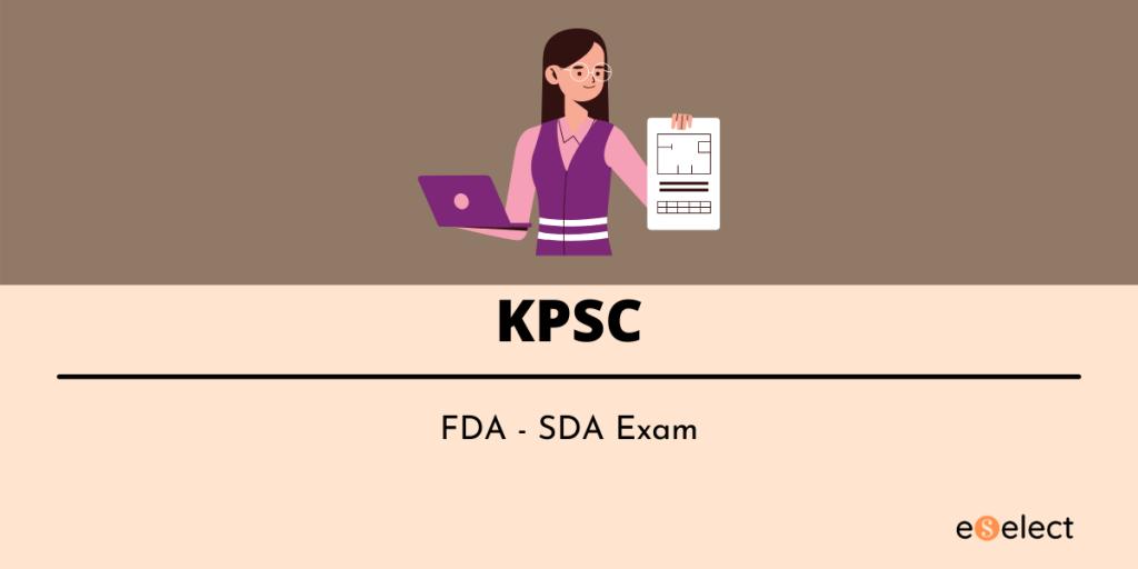 kpsc fda hall ticket