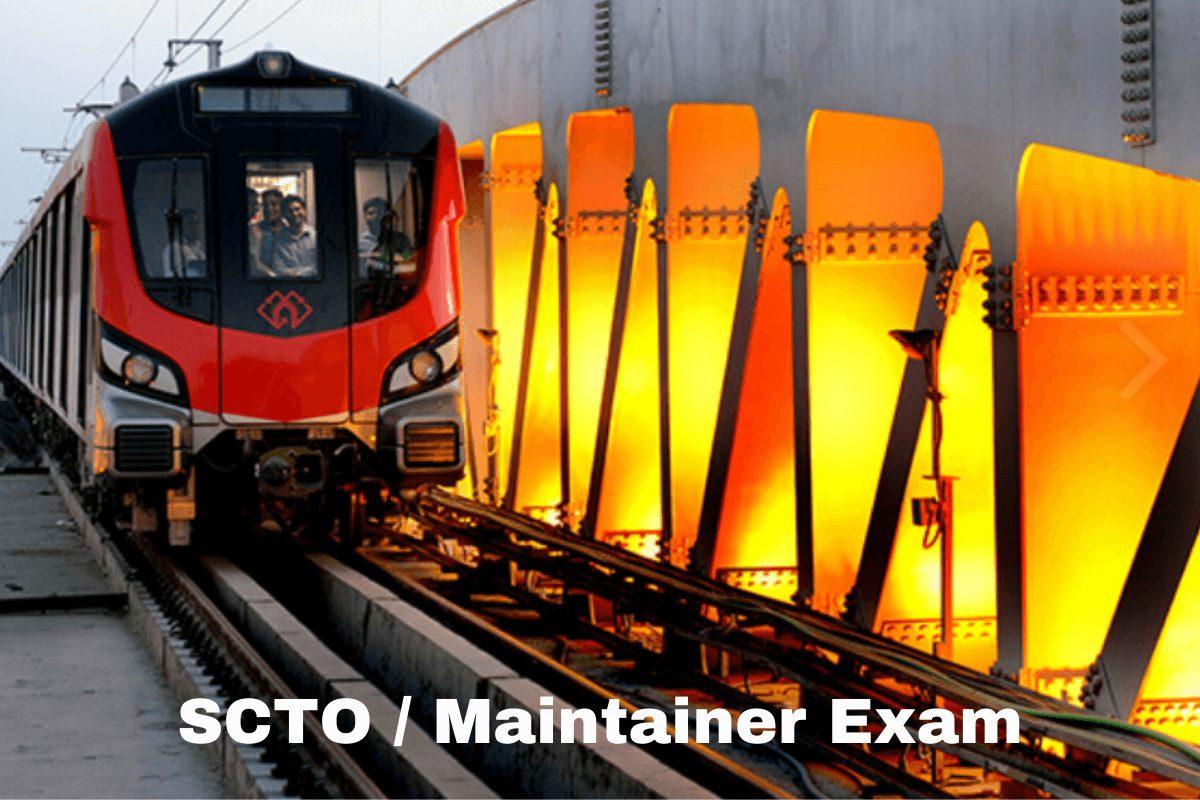 UPMRC Admit Card 2021 UP Metro SCTO Maintainer Admit Card Exam Date